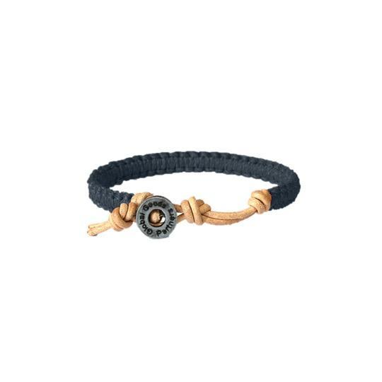 TH(E) BRACELET - Navy / Braid