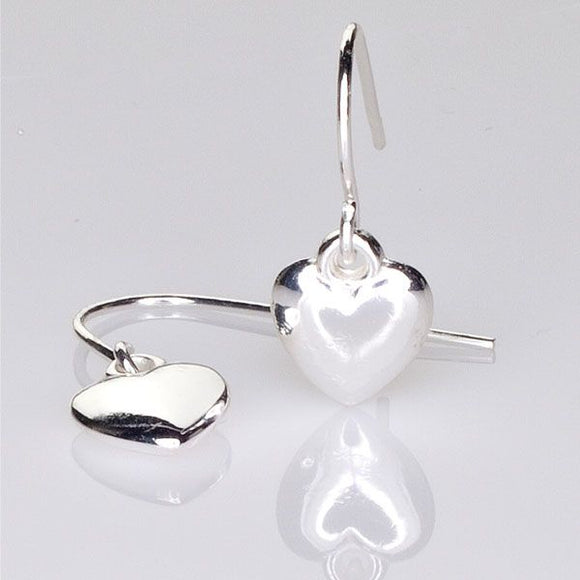 Heart Shaped - Earrings for Pierced Sensitive Ears