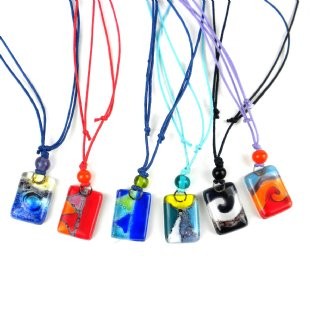 Small Glass Necklace - Variety