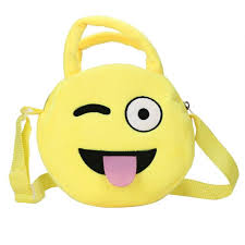 Emoji Face - Wink Purse