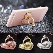 Heart Metal Finger Ring Stand for iPhone