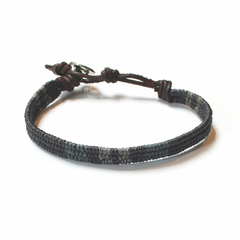 Men's Denim Bracelet