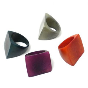Tagua Mesa Ring - Assorted Colors and Limited Sizes