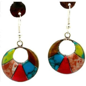 Arcada Silver Mosaic Earrings