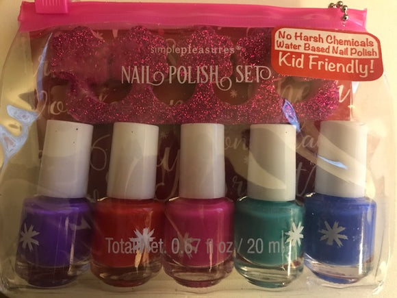 KID FRIENDLY! Simple Pleasures Nail Polish Set