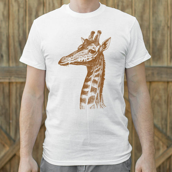 Mens Placid Giraffe T-Shirt