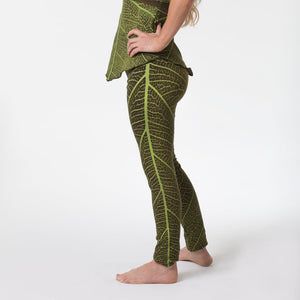 Leaf Print Leggings