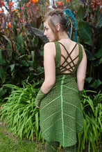SALE - Forest Faerie Leaf Dress - Leafy Dress - Elf Dress - Faerie Dress - Fairy Dress - Pixie Dress - Forest Fairy