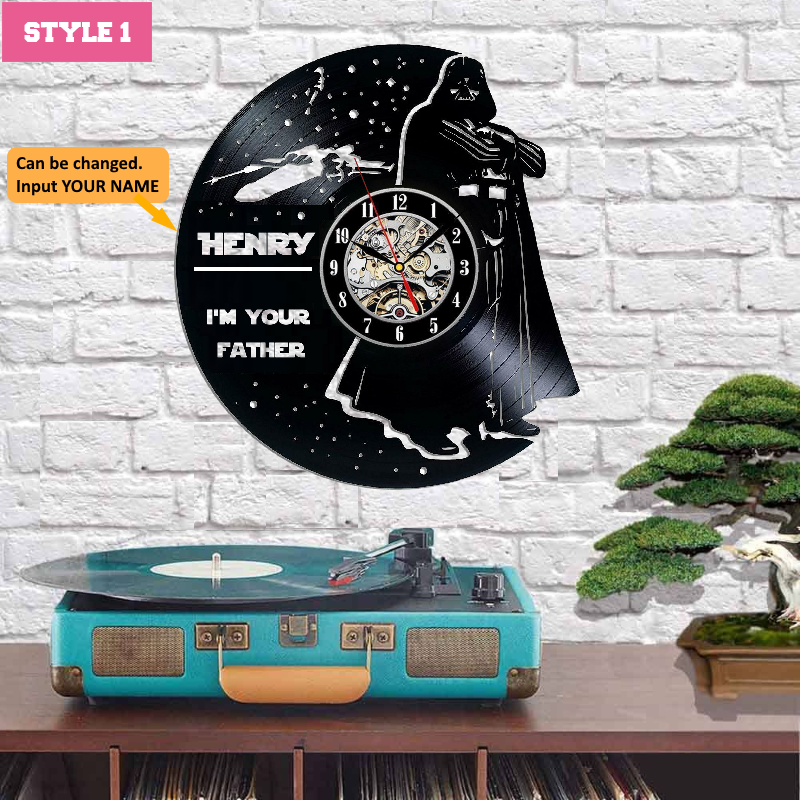 Star Wars Custom Wall Clock