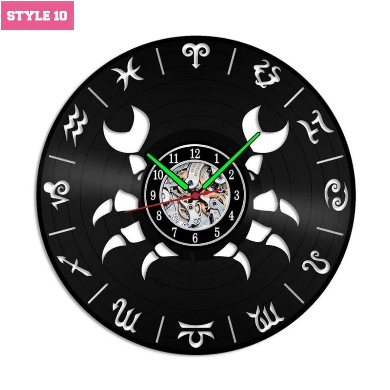 Zodiac Wall Clock