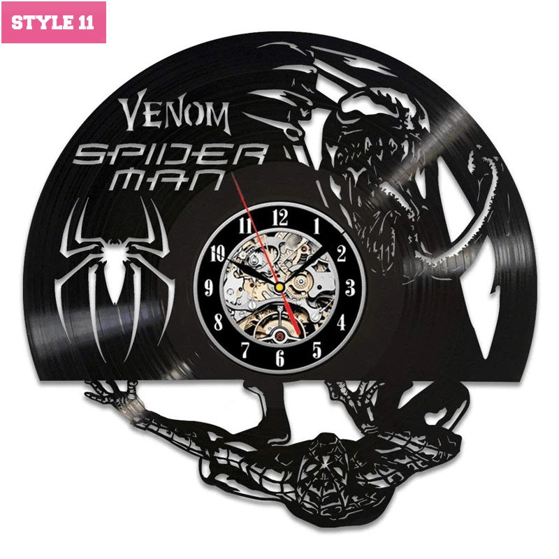 Venom Wall Clock