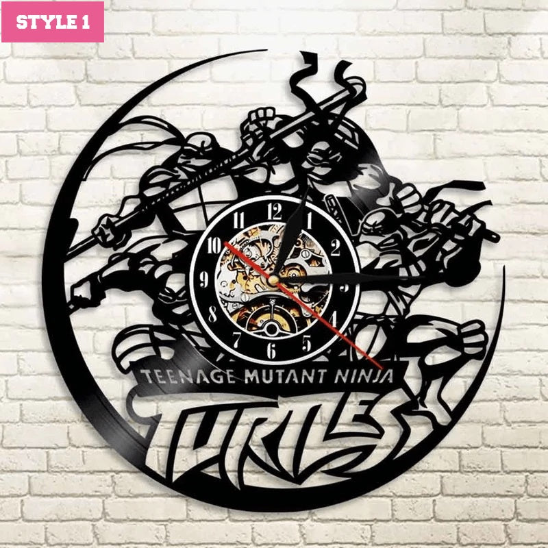 Ninja Turtles Wall Clock