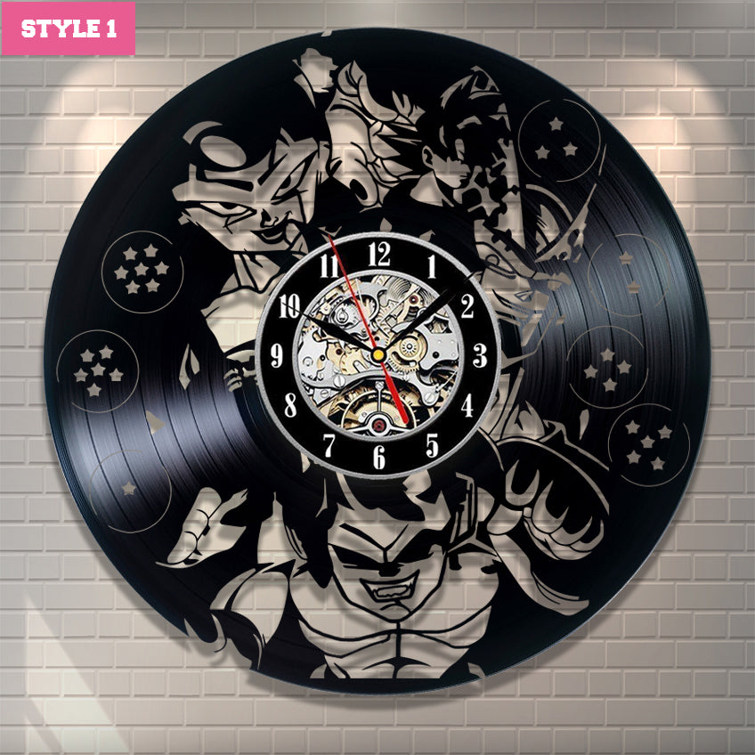 Dragon Ball  Wall Clock