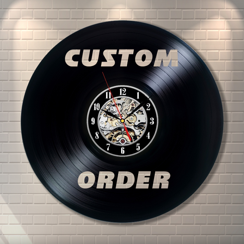 Custom Order Wall Clock