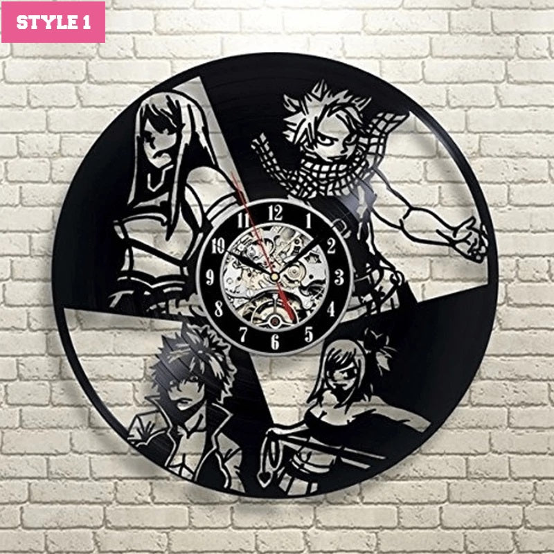 Fairy Tail Wall Clock