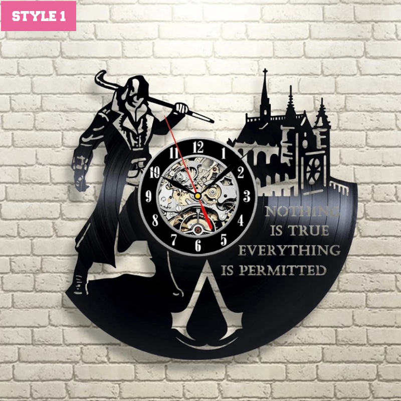Assassin's Creed Wall Clock