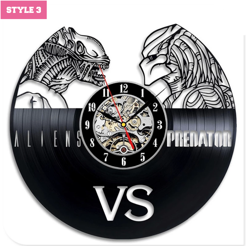 Alien VS Predator Wall Clock