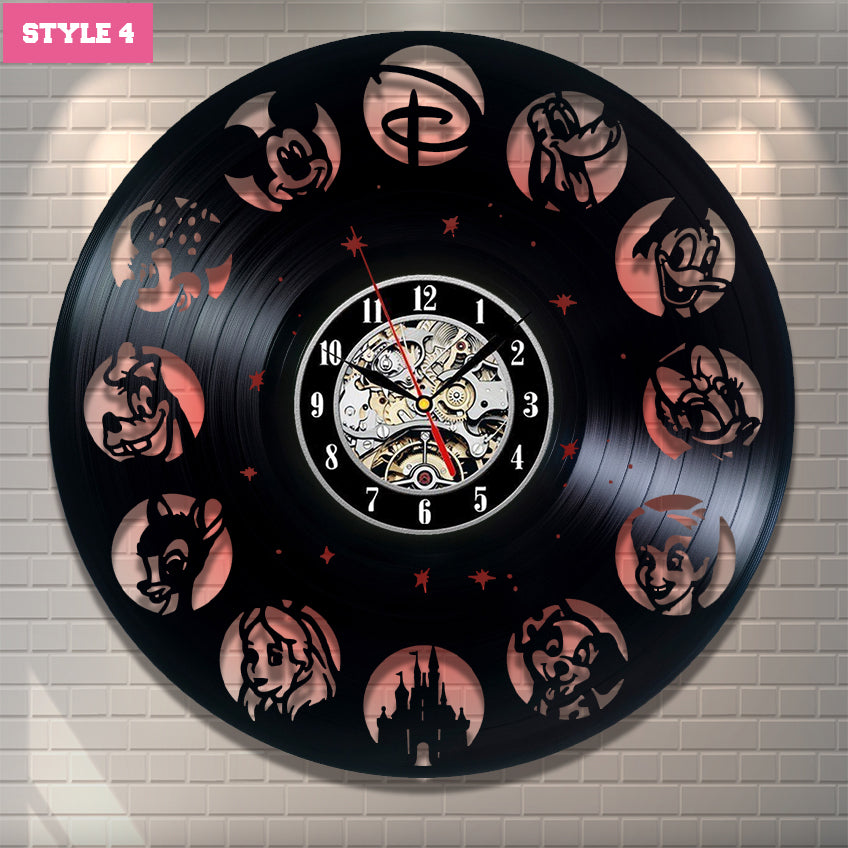 Mickey Mouse Universe Wall Clock