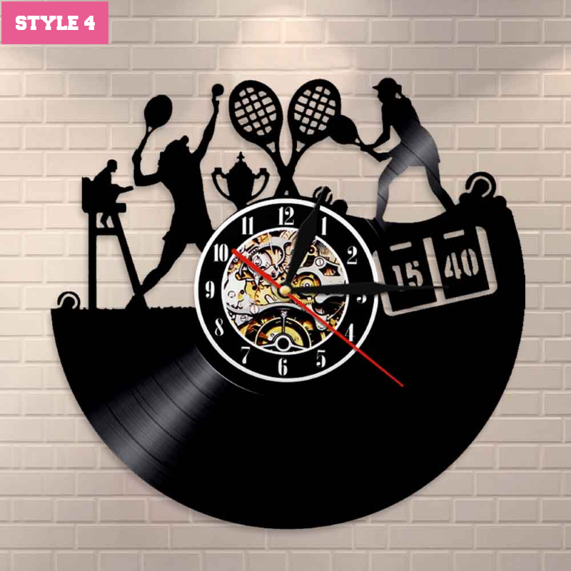 Tennis Wall Clock