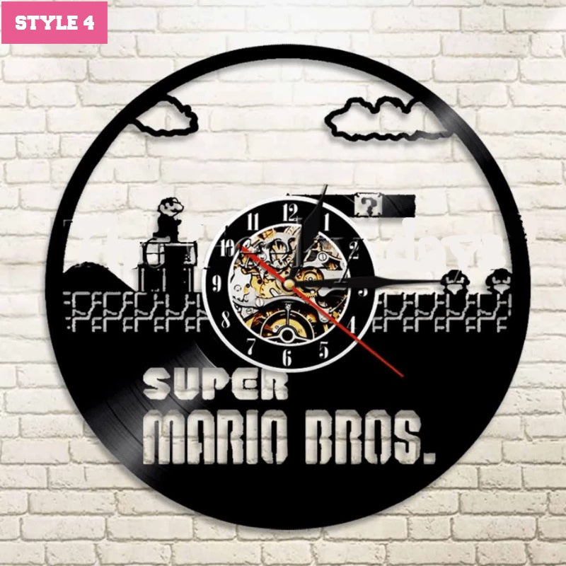 Super Mario Wall Clock