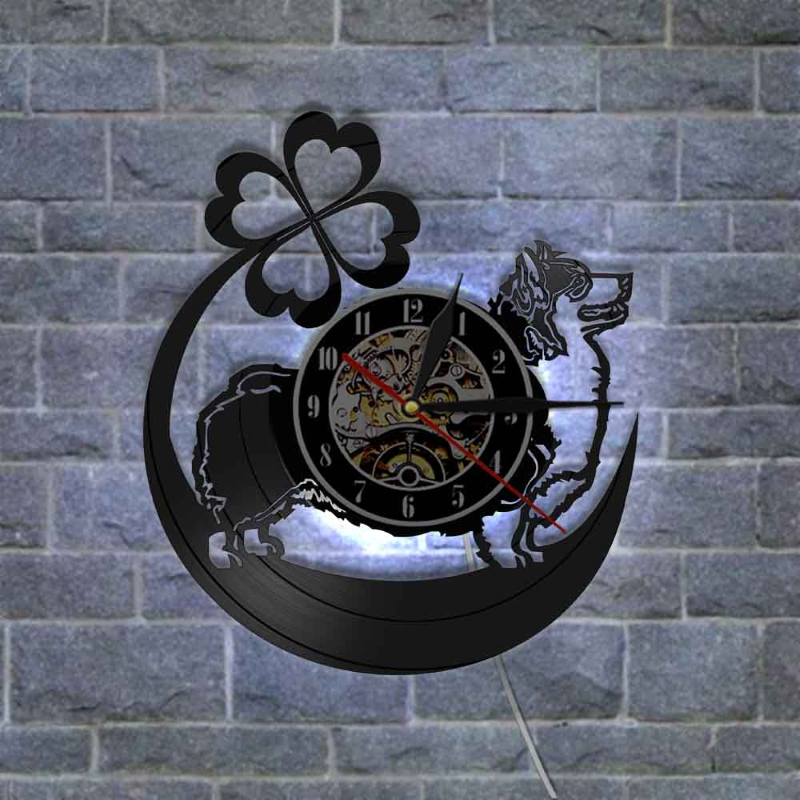 Corgi Custom  Wall Clock