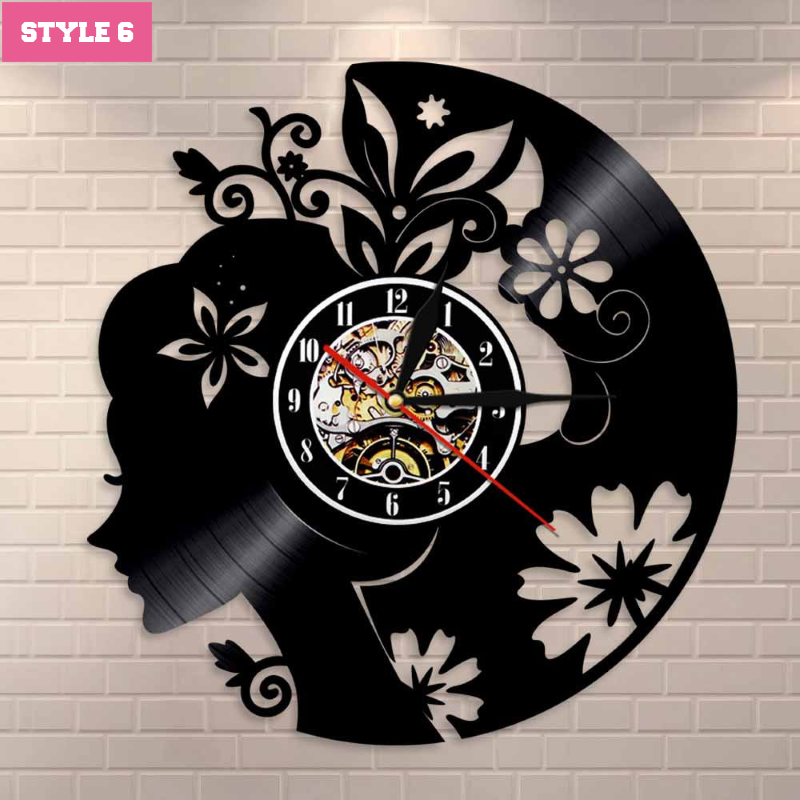 Just Girl Things Wall Clock