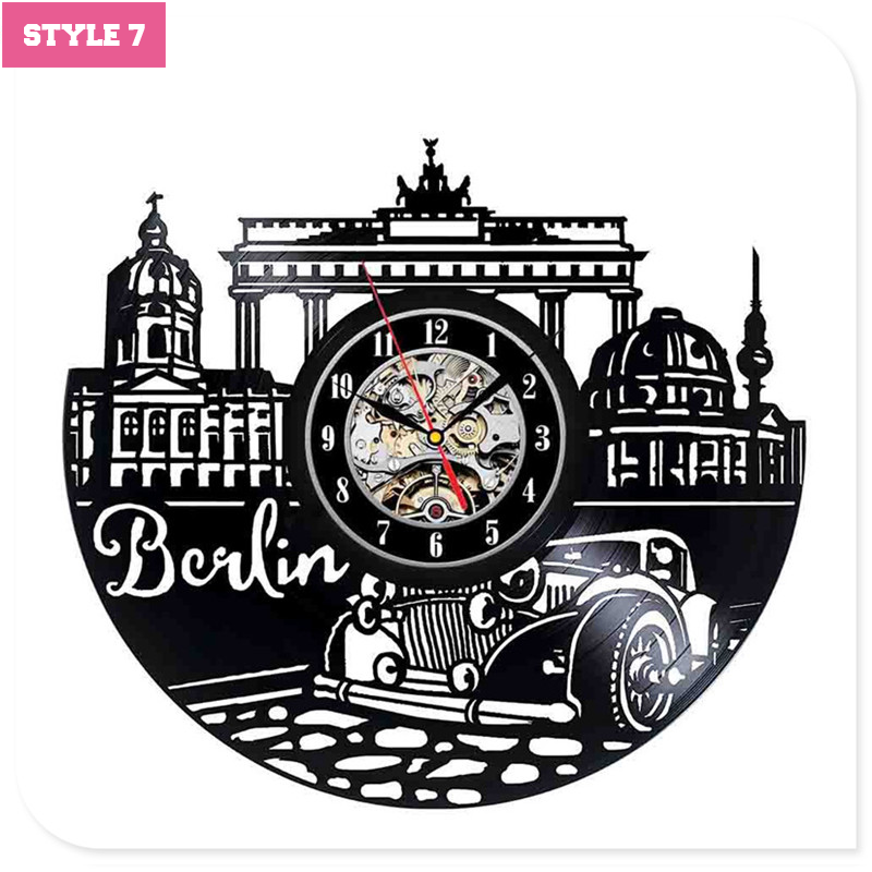 Berlin Wall Clock