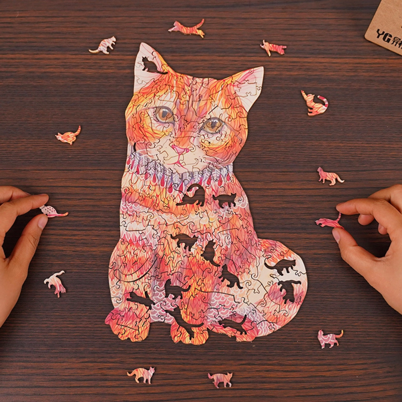 Animal Wooden Jigsaw Puzzles