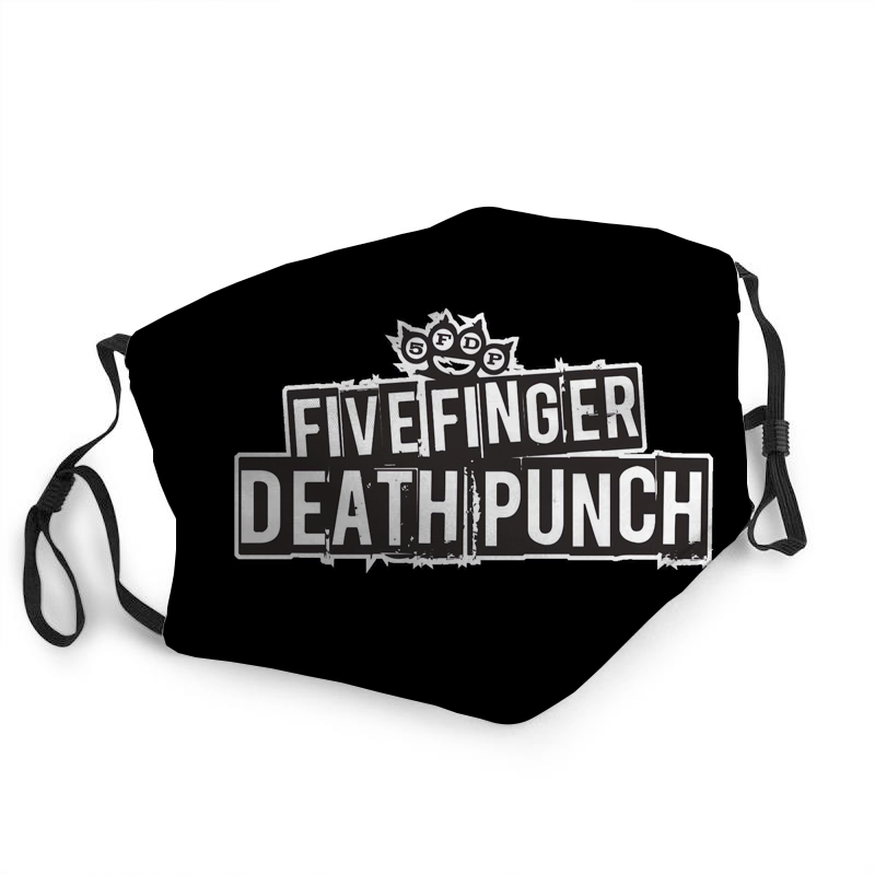 Five Finger Death Punch Fabric Mask
