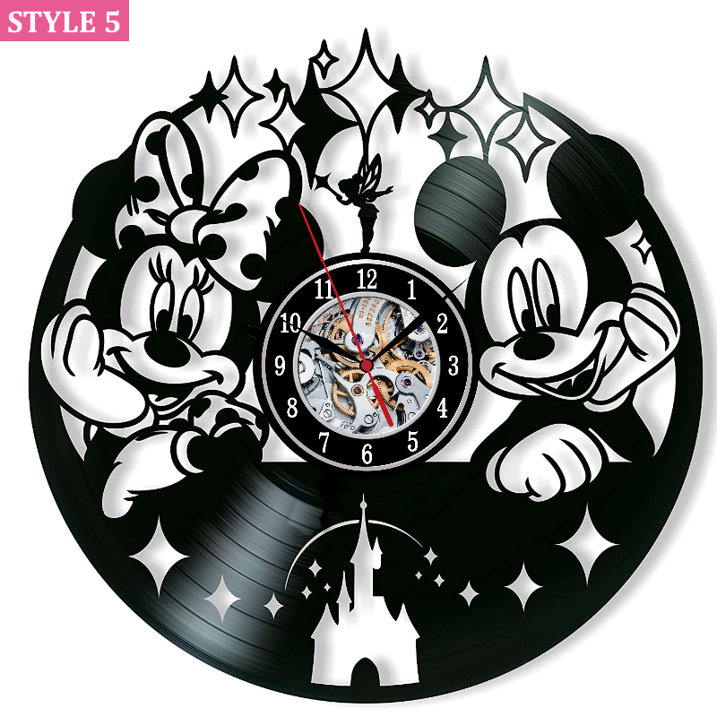 Mickey And Minnie Wall Clock