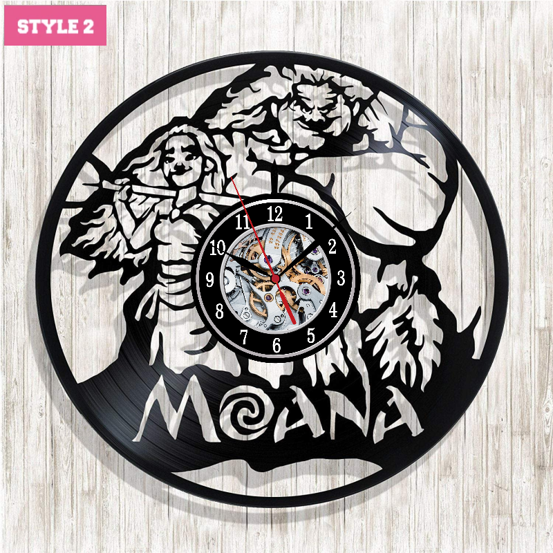 Moana Wall Clock
