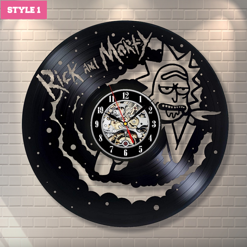 Rick and Morty Wall Clock