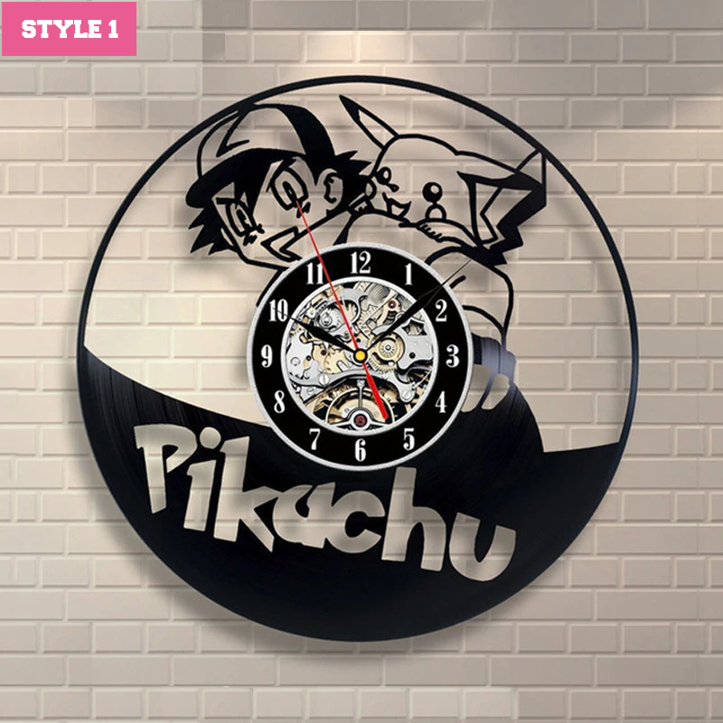 Pokemon Wall Clock