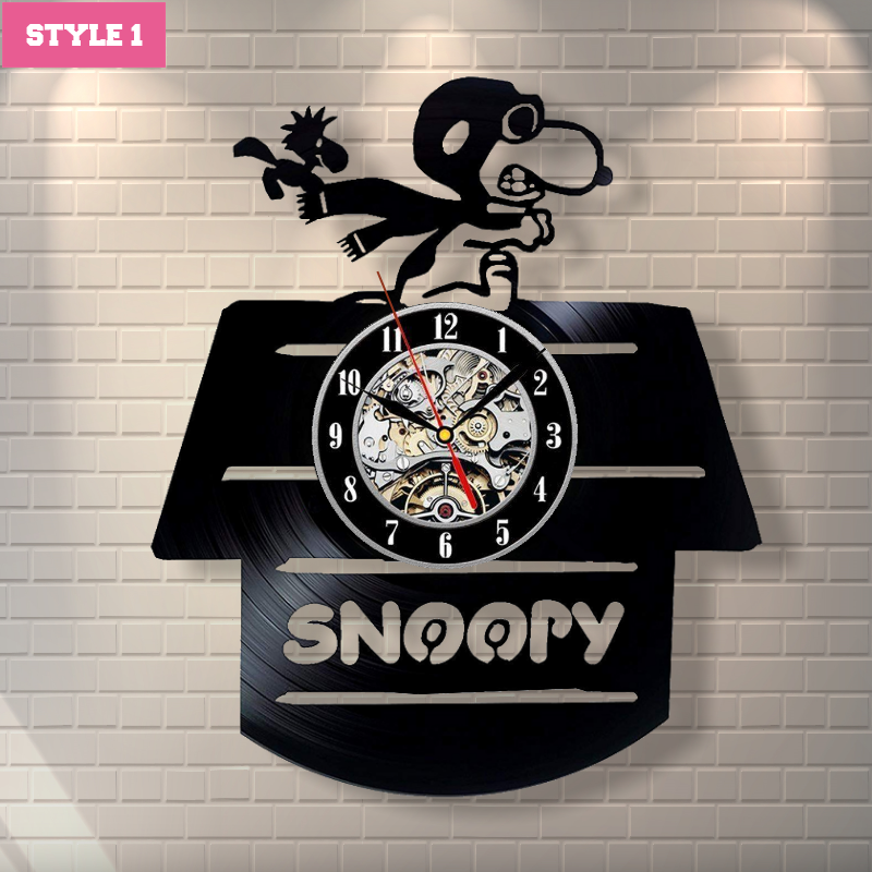 Snoopy Wall Clock (AD0001)