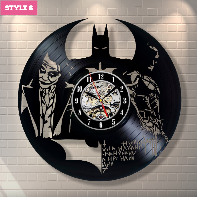 Joker Wall Clock