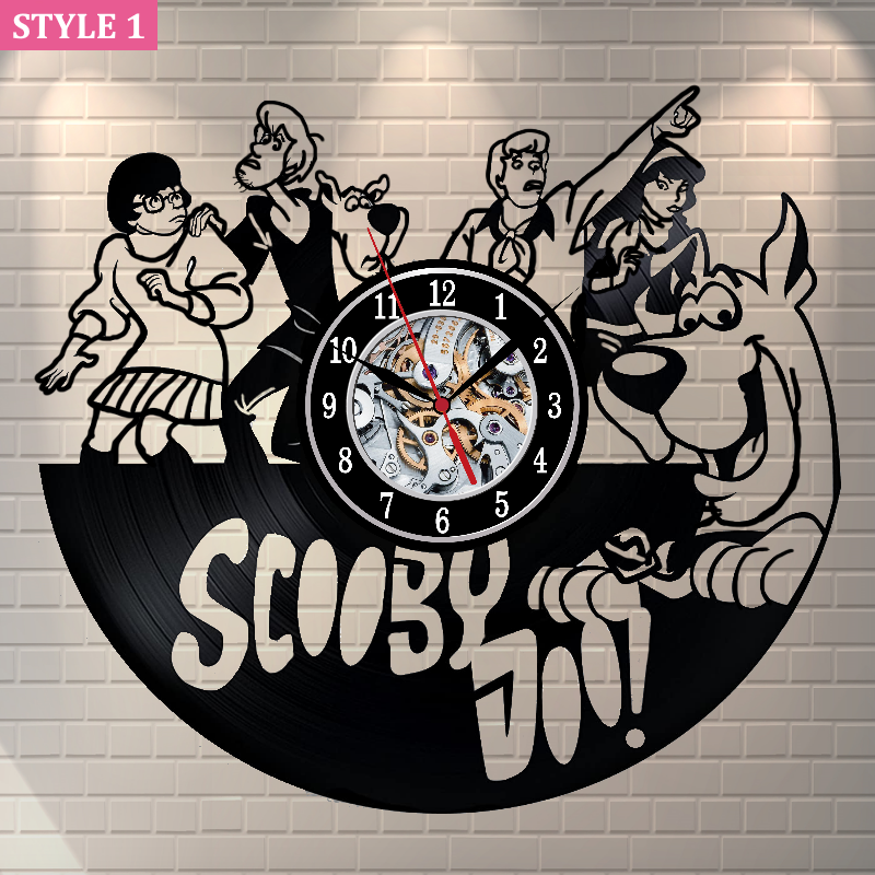 Scooby-Doo Wall Clock