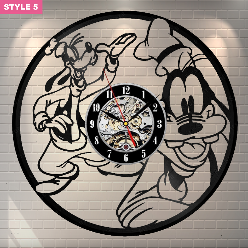 Goofy Wall Clock