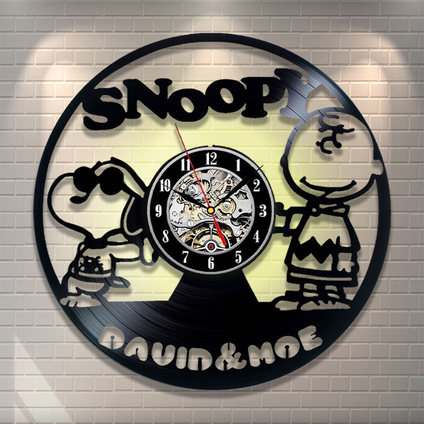 Snoopy Personalized Wall Clock