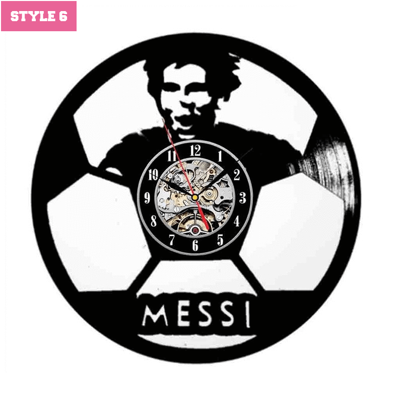 Messi Wall Clock