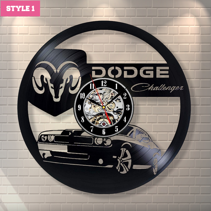 Dodge Wall Clock