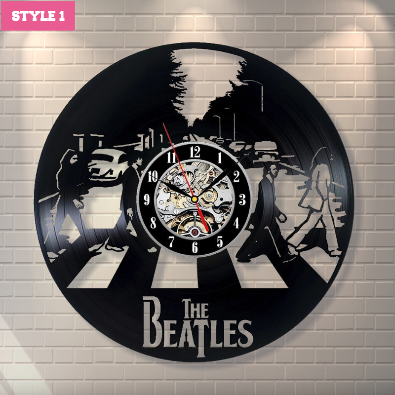 The Beatles Wall Clock