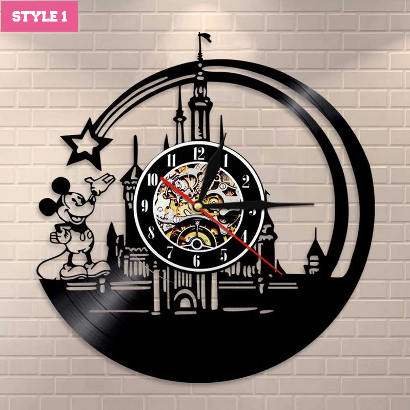 Mickey Mouse Wall Clock