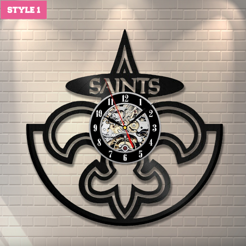 American Football Team Wall Clock