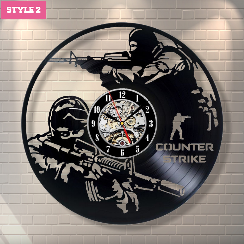 CS:GO Wall Clock