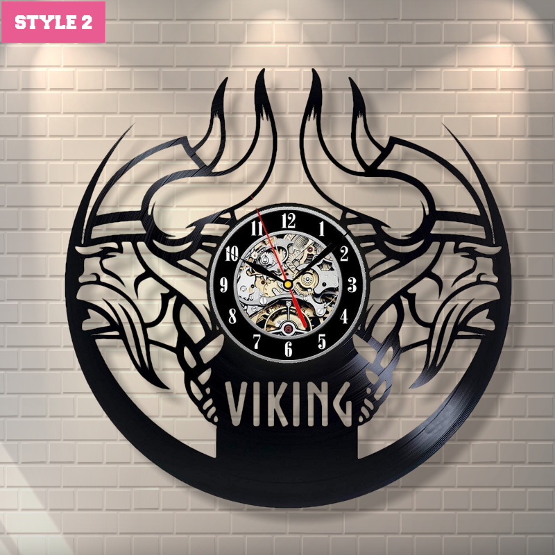 Viking Wall Clock