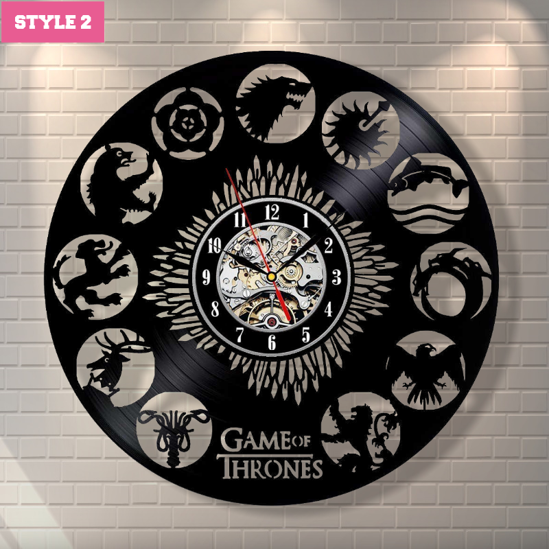 Game of Thrones New Wall Clock