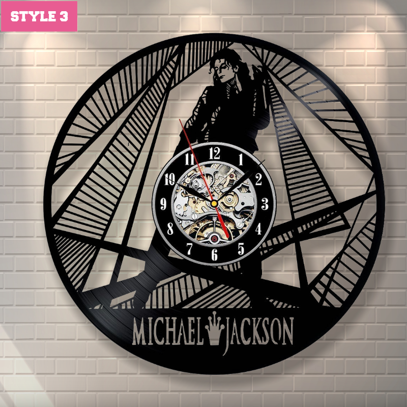 Micheal Jackson Wall Clock