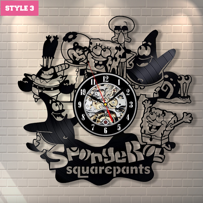 Spongebob Wall Clock