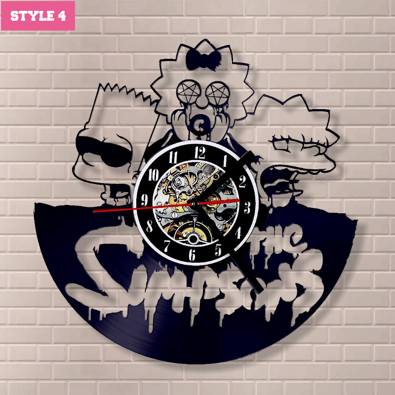 The Simpson Wall Clock