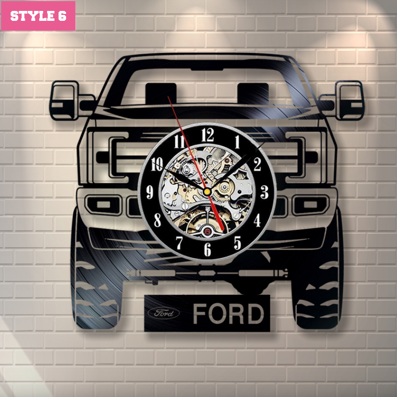 Ford Trucks Wall Clock